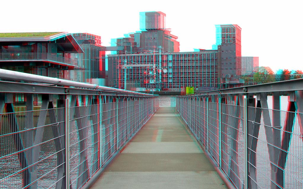 Toegangsbrug Floating Office Rotterdam (FOR) 3D