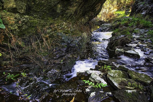 Small Waterfall in Poios. Vila de Rei, Castelo Branco.Portugal