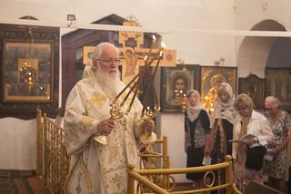 18.06.2021 | Божественная литургия в храме свт. Климента