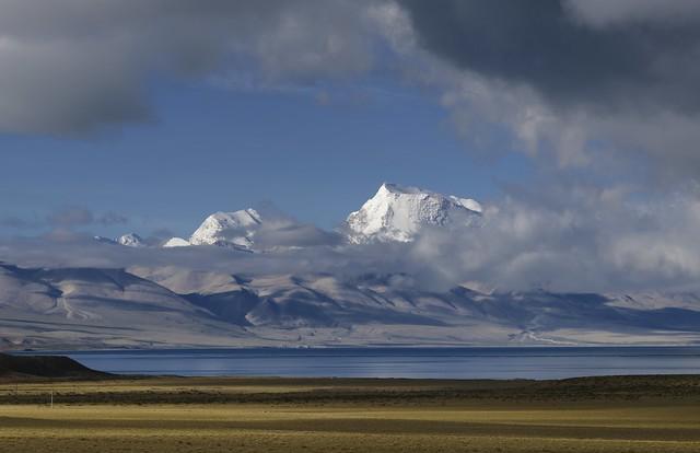 Lake Manasarover and Mt Nemo Nanyi, Tibet 2019