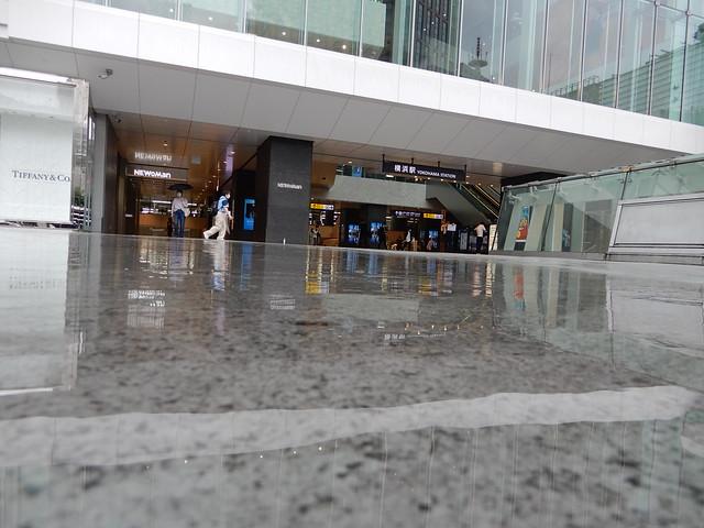 雨の横浜西口 2021.6.19