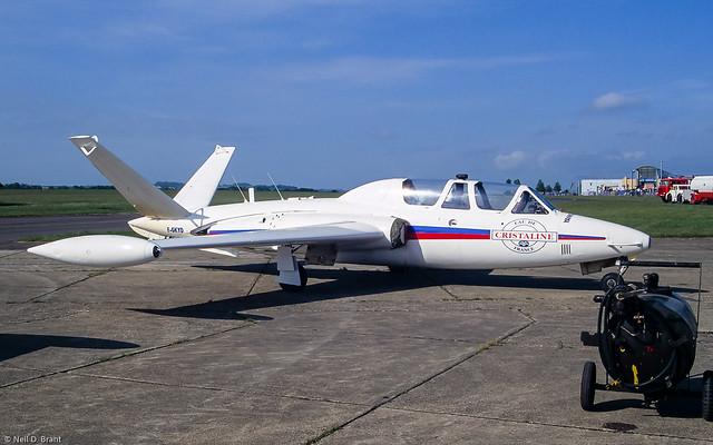 Fouga CM-170R Magister F-GKYD