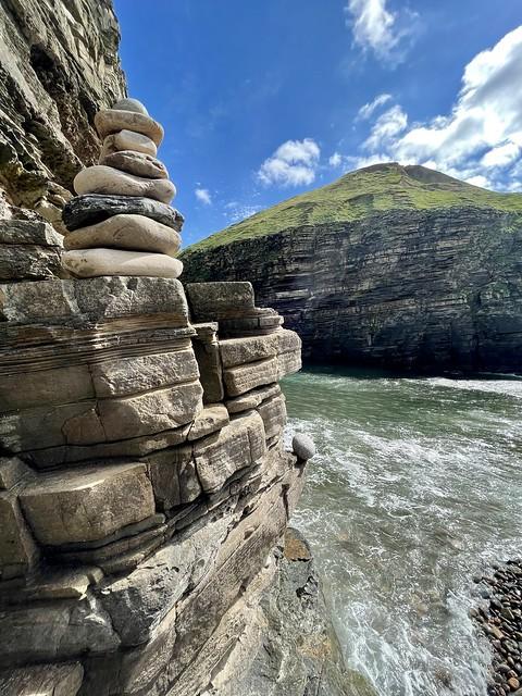 Puffin Cove, Drumhollistan, Caithness, Scotland