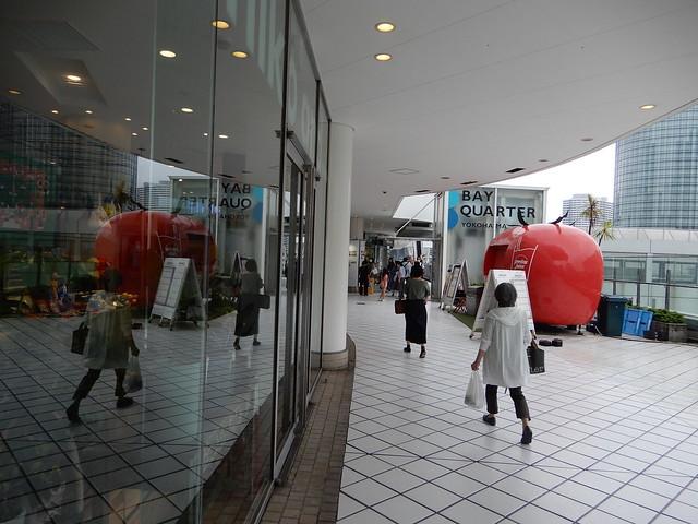 雨の横浜東口 2021.6.19
