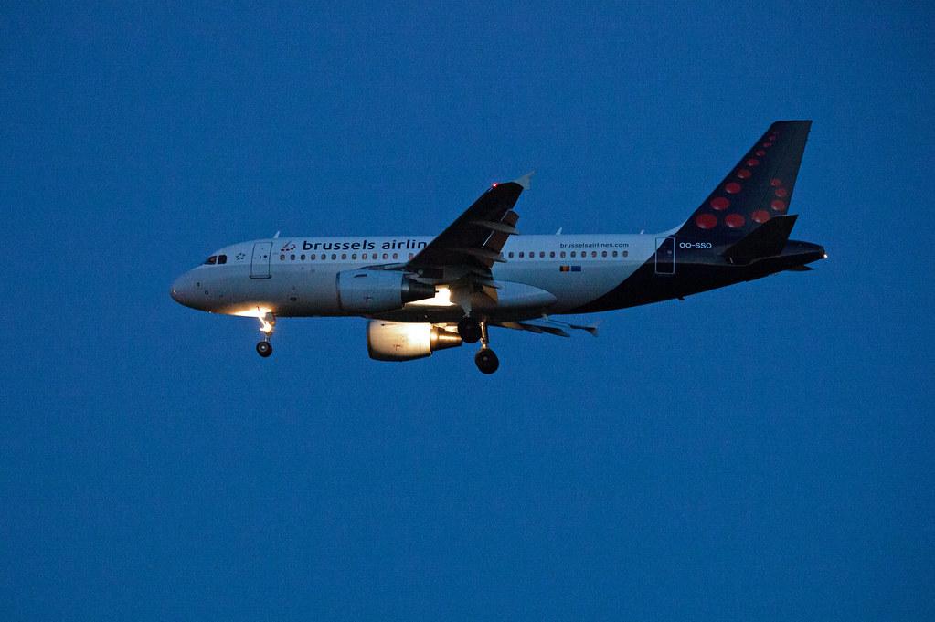 BER Brandenburg A-320 Brüssel Airlines 18.6.2021