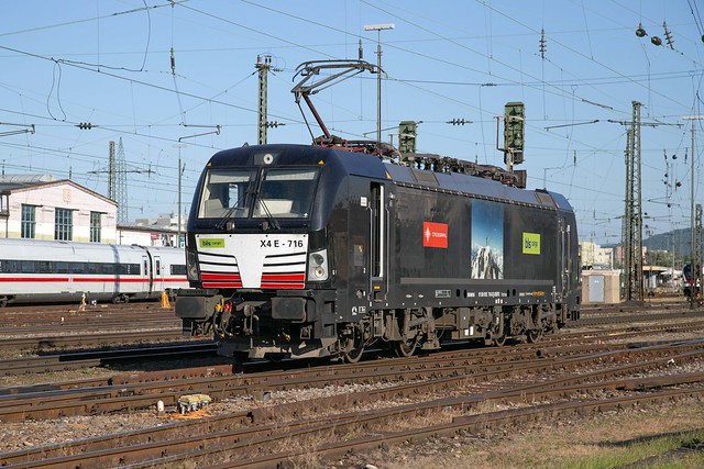 MRCE 193 716 Basel Badischer Bahnhof