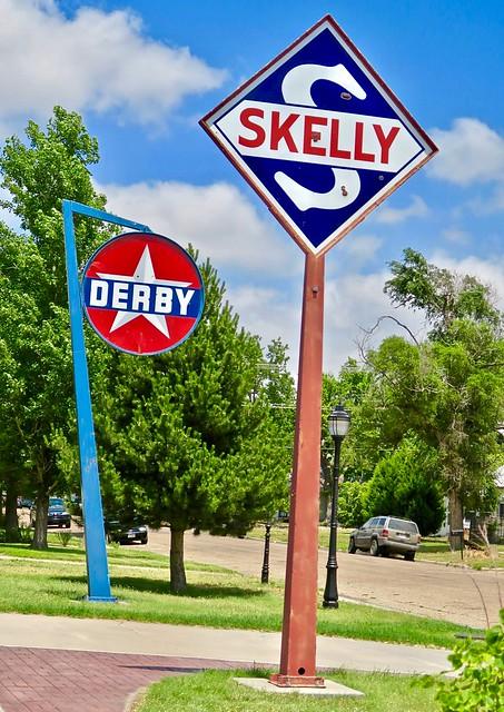 Gas Station Signs, Goodland, KS