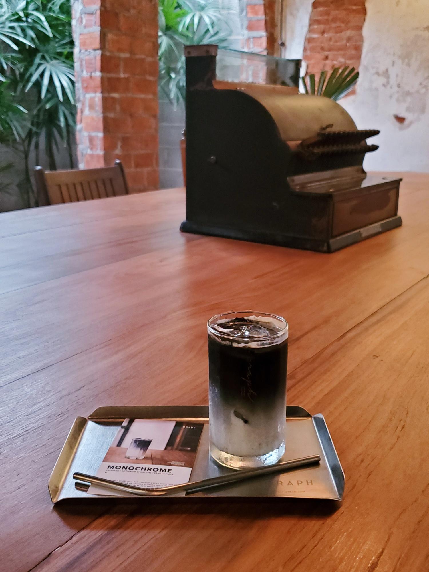 Graph Coffee Monochrome