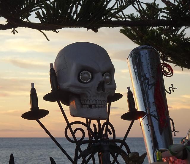 Skull on the Horizon