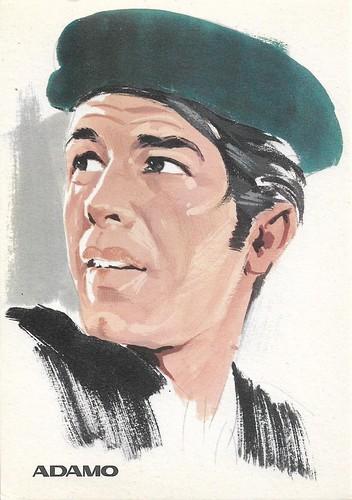 Adamo, portrait by F. Picchioni