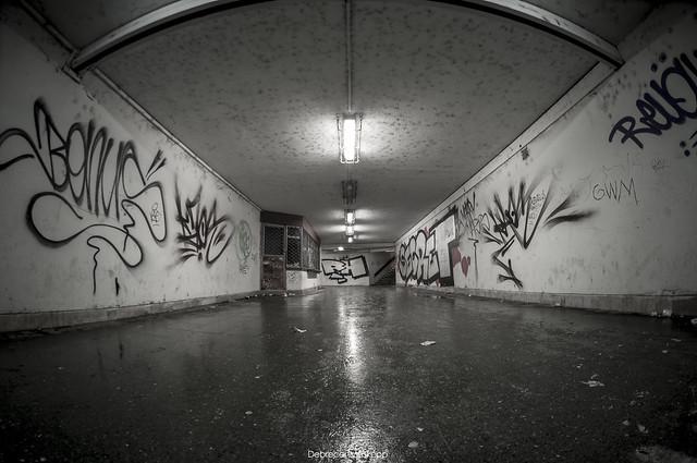 Debrecen, Nagyállomás aluljáró