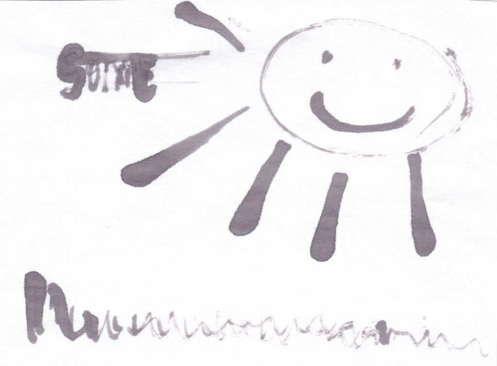 Sonne 1, Eisengallustinte, DIY
