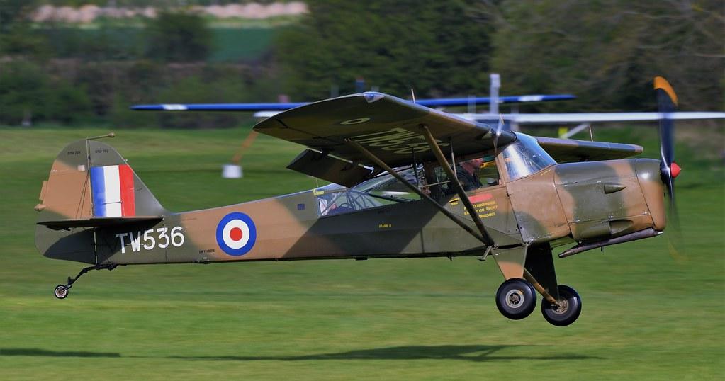 1946 Auster AOP.6 G-BNGE RAF TW536