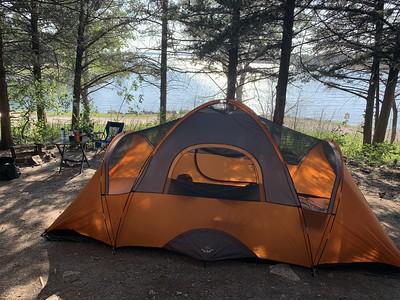 Camp Site at Lake Milford State Park