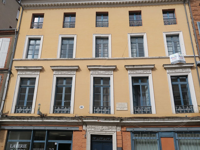 Maison natale du sculpteur Antoine Bourdelle - 26 rue de l'Hôtel de ville, Montauban (82)