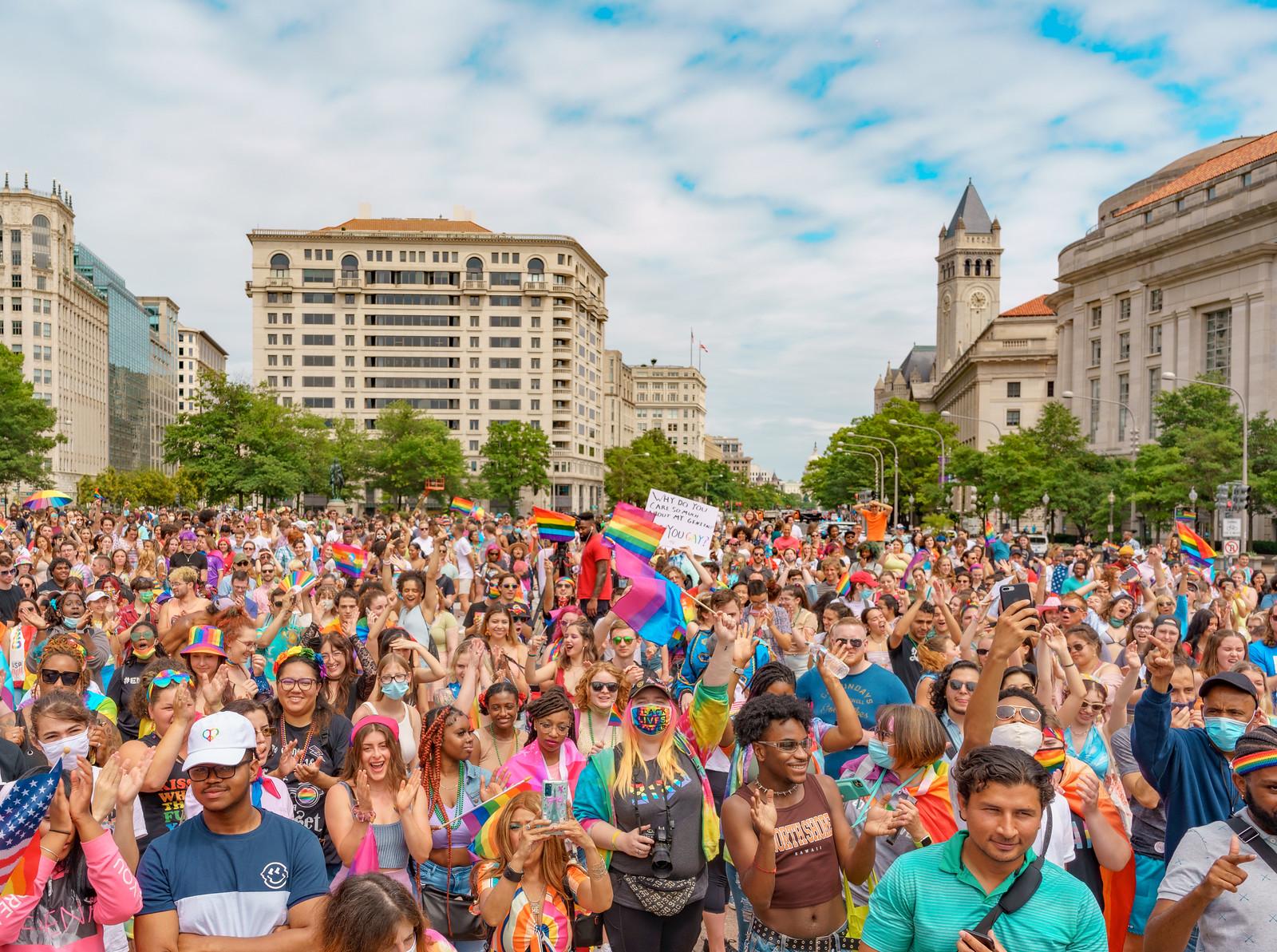 2021 Capital Pride Walk and Rally and Pridemobile Parade
