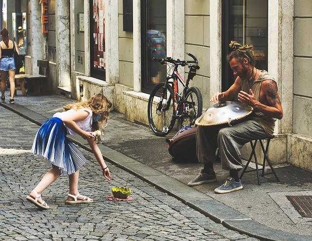 Straßenkunst macht sich bezahlt