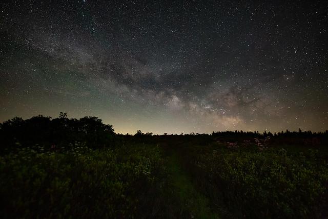 Night Rises in West Virginia