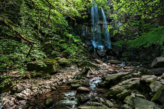 Melincwrt Waterfall