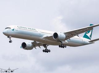 F-WZNP / B-LXN Airbus A350-1041 Cathay Pacific s/n 424 * Toulouse Blagnac 2021 *