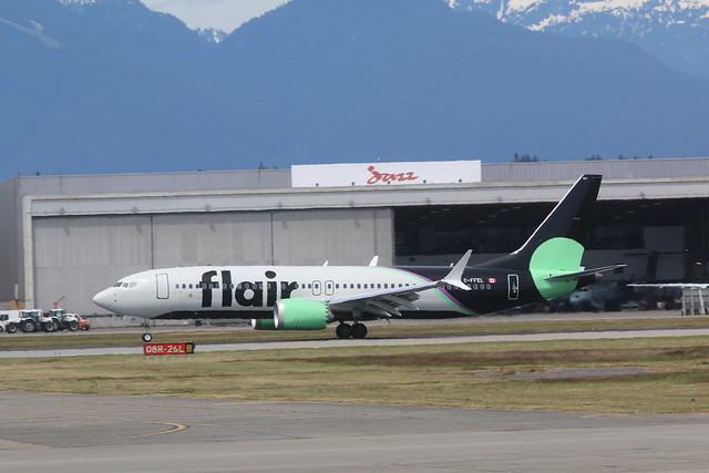 C-FFEL Flair B737-8