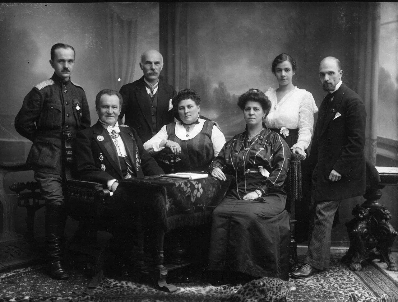 1916. Семейство Булла