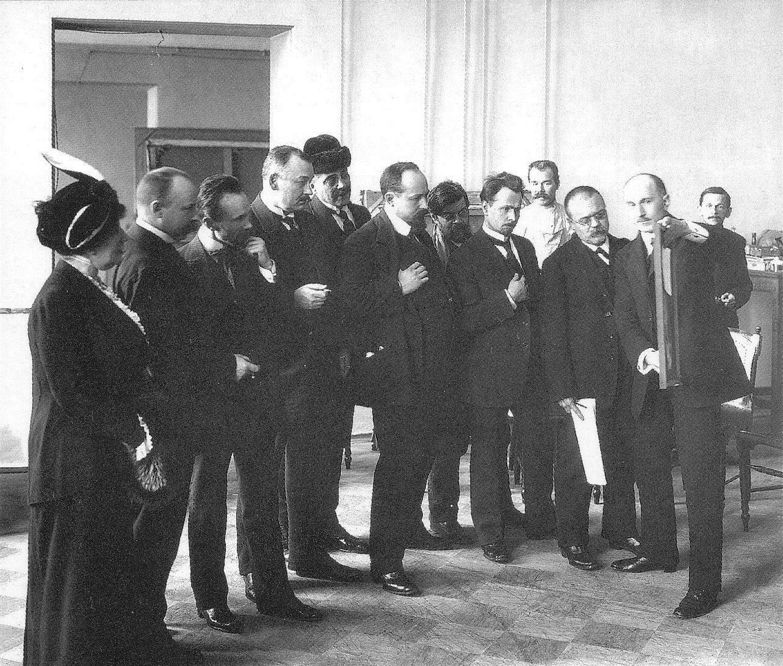 1914. Члены жюри Весенней выставки