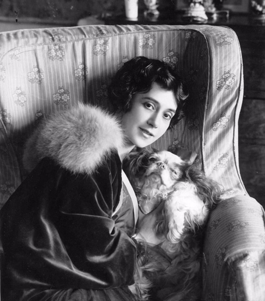 1914. Балерина Тамара Карсавина