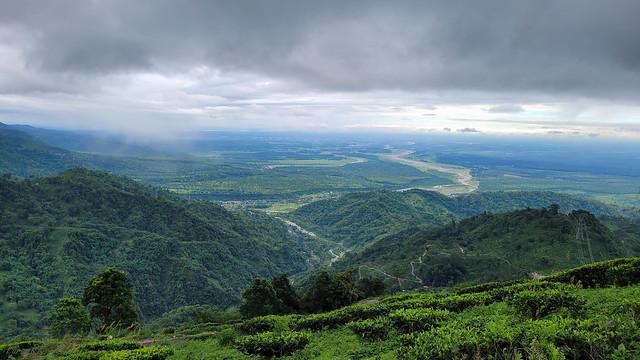 Muktikhola valley from Millikthong