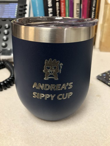 laser engraved cup