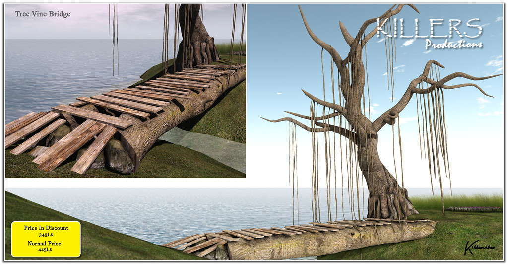 """Killer's"" Tree Vine Bridge On Discount @ Treschic Event Starts from 17th June"