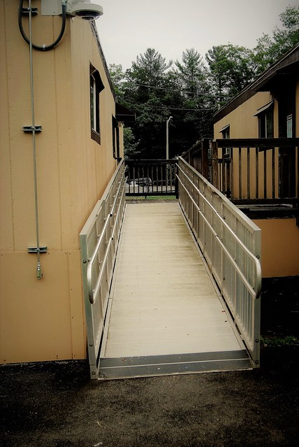 ramp to outdoor classrooms