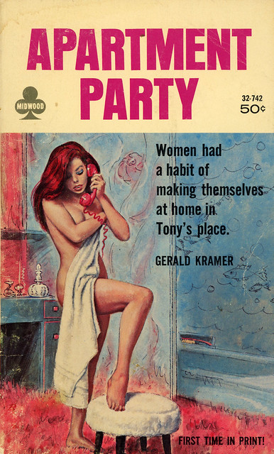 Midwood Books 32-742 - Gerald Kramer - Apartment Party
