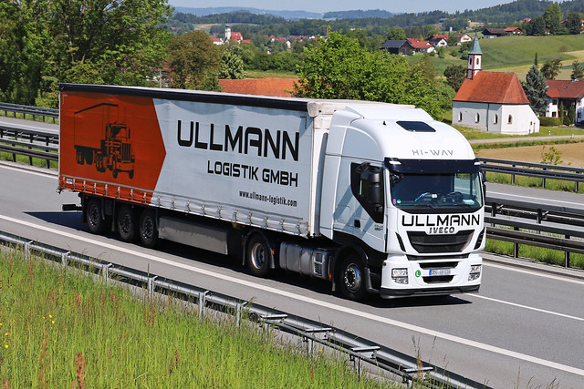 Iveco Stralis 480  Ullmann Logistik