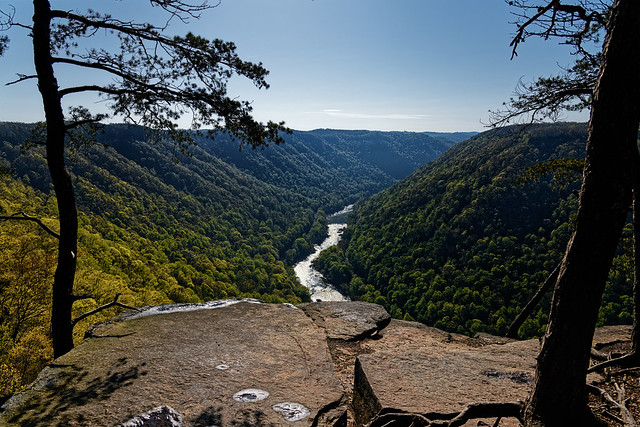 The Cliff Wall Was To My Front (New River Gorge National Park & Preserve)