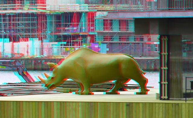 Rhino AVL Floating Office Rijnhaven Rotterdam 3D