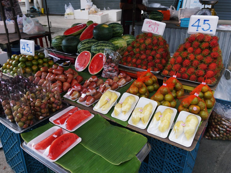 Chiang Mai fruits