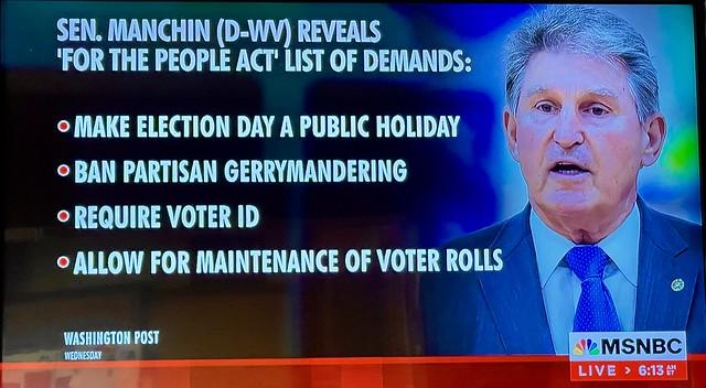 Senator Joe Manchin's Great Compromise🙏