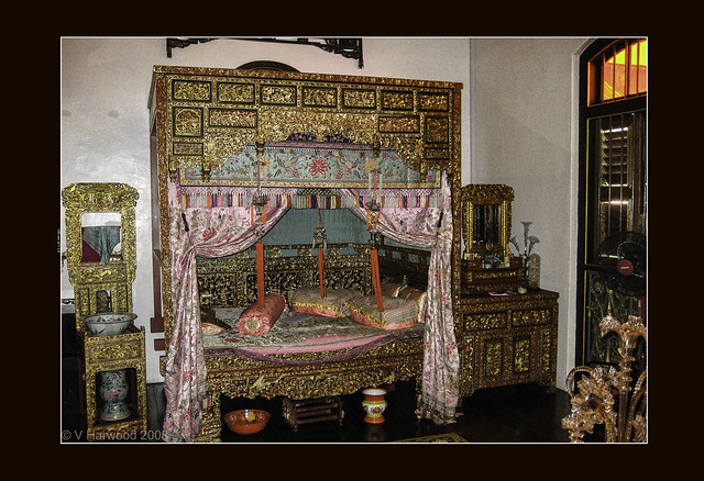 Antique Chinese Canopied Bed