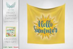 [Ari-Pari] Hello Summer Tapestry