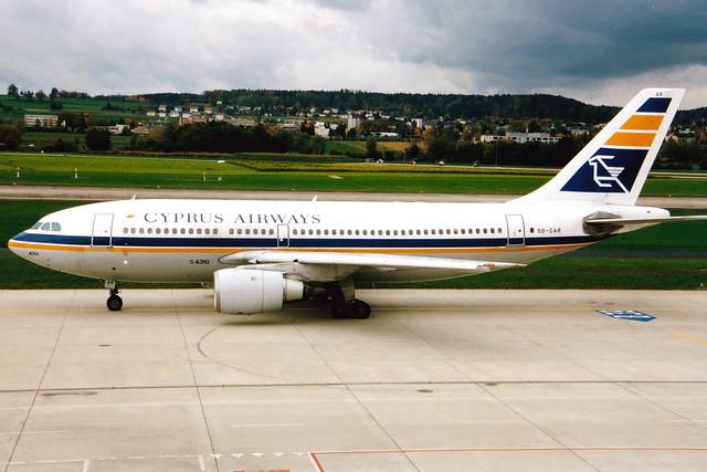 Cyprus Airways | Airbus A310-200 | 5B-DAR | Zurich Kloten