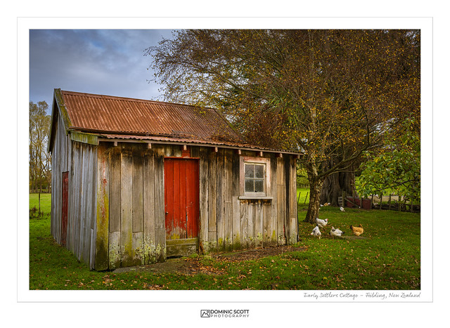 Early Settlers Cottage - Feilding New Zealand