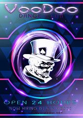 Voodoo open 24 hours-now hiring