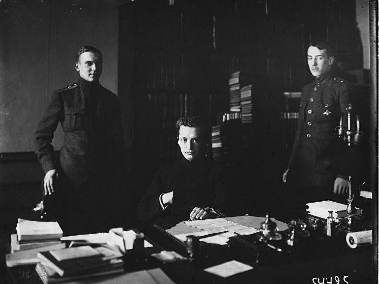 1917. Александр Фёдорович Керенский