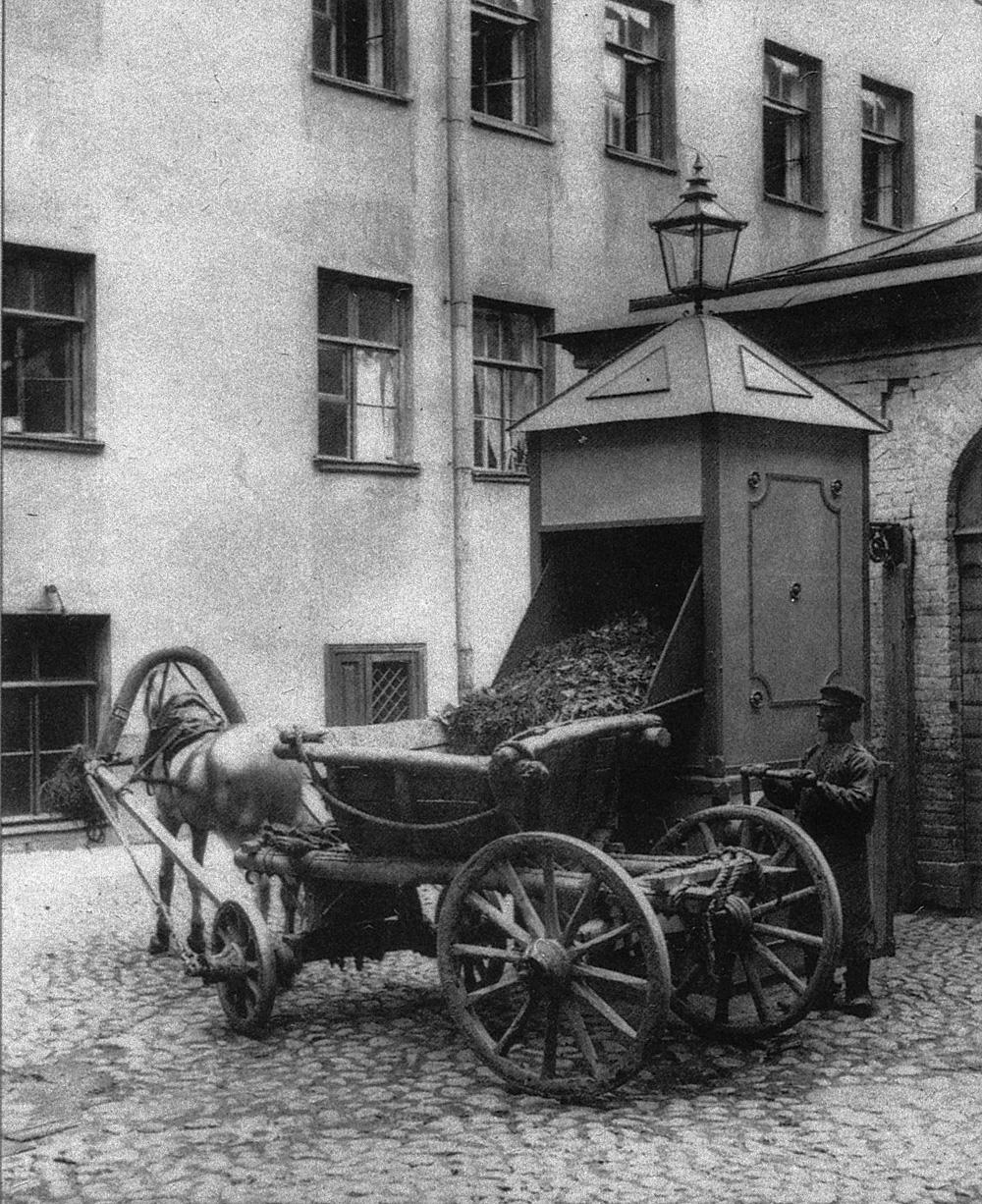 Петербургский мусорщик