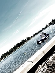 Sittin on the lake