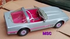 Barbie Silver Vette Renovation