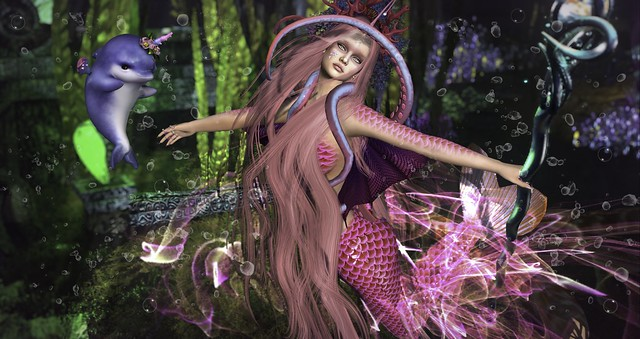 I was born a mermaid and shall remain a mermaid.  I shall never aspire to be human should even the most handsome prince in the world wish it so...