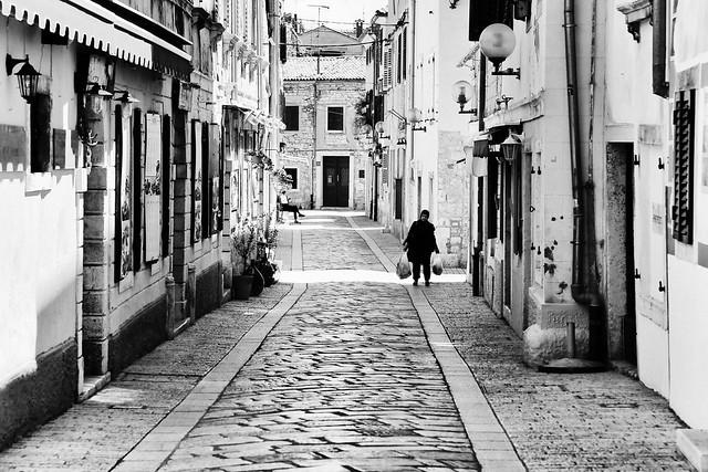 Streets of Porec