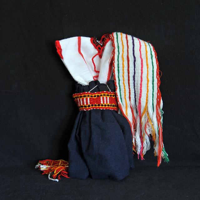 Oaxaca Mexico Tamazulapam Mixe Doll Clothing